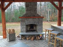 outdoor stone fireplace outdoor fireplace kits modular masonry fireplace kits outdoor