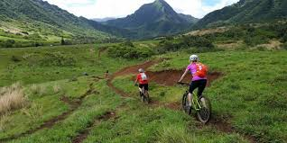 Hawaii mountains images Bike hawaii oahu tours activities bike hawaii jpg