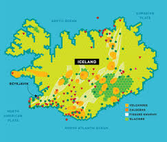 Iceland Map Location Map Of Volcanoes In The United States Map Holiday Travel