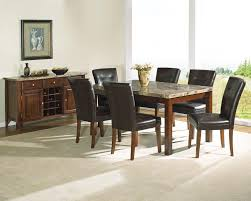 Leather Dining Room Chairs For Sale Dining Room Simple Leather Dining Table Chairs Dining Room