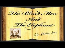 Blind Men And The Elephant Poem The Blind Men And The Elephant By John Godfrey Saxe Poetry