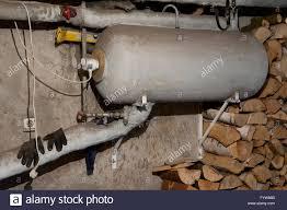 boiler in cellar interior dark underground basement room under