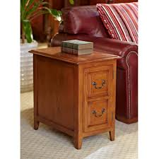 Power Chairside End Table Signature Design By Ashley Laflorn Oak Power Chair Side End Table