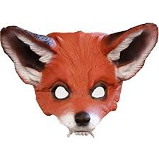 Fox Halloween Costume Amazon Red Fox Mask Halloween Costume Clothing