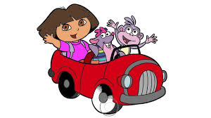 dora the explorer coloring page 2 dora and boots little hands