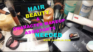 makeup artists needed hair beauty character makeup artist needed samelia s world