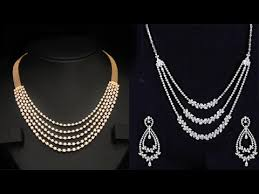 jewelry gold diamond necklace images Top 10 gold diamond necklace designs indian jewellery designs jpg