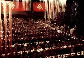 inside a christmas party hosted by adolf 1941