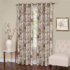 achim sheer tranquil mist lined grommet window curtain panel 50