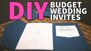 wedding invites cost diy wedding invites u0026 wax stamp desidiy youtube