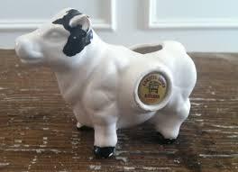 cow toothpick holder souvenir