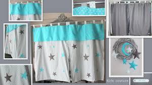 rideau chambre bébé garçon paire de rideaux occultants étoilés pour chambre bébé enfant