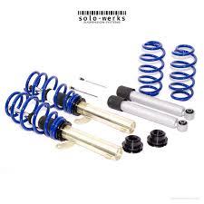 solo werks s1 coilovers vw mk5 mk6 jetta golf a3 tt beetle 2wd ind