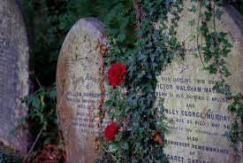 cemetery stones grave stones and roses highgate cemetery call it a cliche flickr