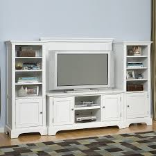 shop home styles naples white television entertainment center at