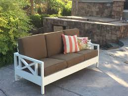 Ana White Patio Furniture Ana White Outdoor Sofa Mash Up Diy Projects