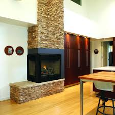 Sided Outdoor Fireplace - double sided fireplace indoor outdoor cost fireplace ideas