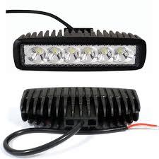 Atv Led Light Bar by 2pcs 6in 18w Led Work Light Bar Fog Offroad Wire Harness Kit Atv