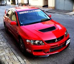 mitsubishi modified wallpaper 2006 red mitsubishi lancer evo gsr 9 pictures mods upgrades
