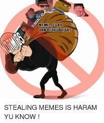 Y U Know Meme - s meme segar dan berkualitas stealing memes is haram yu know