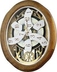 joyful anthology wall clock by rhythm clocks chiming quartz clocks