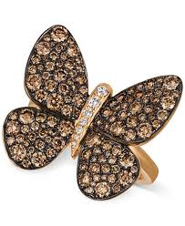 butterfly rings diamond images Le vian chocolatier chocolatier diamond butterfly ring 1 7 8 ct tif