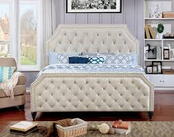 California King Size Bed Frames by Furniture Of America Claudine California King Size Bed Frame