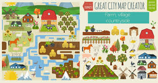 seamless pattern creator great city map creator seamless pattern map village farm coun