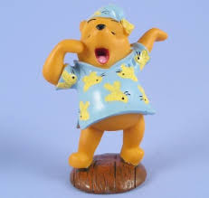 winnie the pooh cake topper winnie pooh yawning cake topper winnie the pooh bedtime cake topper