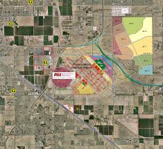 Phoenix Airport Map by Circle G Property Development Mesa Industrial M1