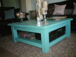 Colorful Coffee Tables Teal Blue Side Table U2022 Side Tables Design