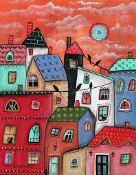 840 best cuadros decorativos images on pinterest folk art naive