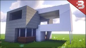 Best House Minecraft Modern Starter House Best House Tutorial 2016