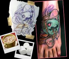 tattoo convention st cloud hot chocolate monster by scotty munster tattoonow