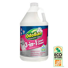 Upholstery Cleaner Rental Home Depot Odoban 128 Oz 3 In 1 Carpet Cleaner 960261 G The Home Depot