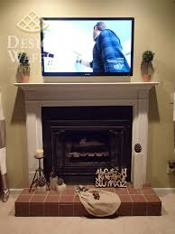 fireplace makeover design waffle