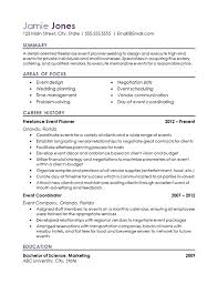 Top 8 Medical Billing Coordinator Resume Samples by Event Coordinator Resume Example Resume Examples And Planners
