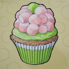 the daily cupcake november pink and pale green are tints of red