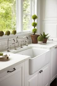 kitchen faucets for farmhouse sinks caden design white kitchen with farmhouse sink with