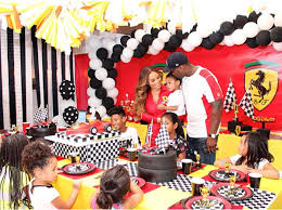 themed throws 50 cent throws a themed birthday party for his 5