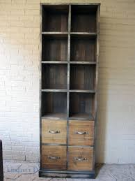 Metal Bookcase Furniture Comely Image Of Large Wheel Metal And Wood Bookcase As