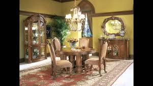 Michael Amini Dining Room Furniture by Aico Monte Carlo Classic Pecan By Michael Amini From Www