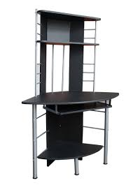 Black Corner Computer Desk With Hutch corner desk units for home office com with bedroom unit narrow