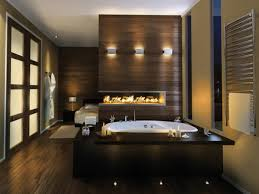 pleasant master bedroom with bathroom design concept on bathroom