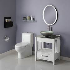 Small Sink Vanity For Small Bathrooms Decolav 5360 Ambrosia White Bathroom Vanity Solid Wood Frame