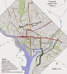 washington dc trolley map thoughts on development the continuing saga of the