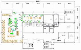 restaurant kitchen layout interior design