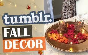 DIY Tumblr Fall Room Decor Affordable & Cozy
