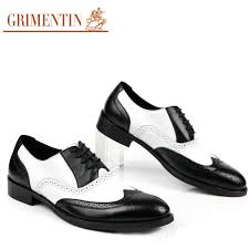 wholesale premium 2015 mens black and white dress shoes genuine
