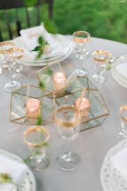Gold Table Centerpieces by Rose Gold Table Decor Something 2 Dance 2